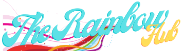 The Rainbow Hub logo